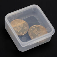 5 Stück Kleine Kunststoff Aufbewahrungsbox Clear Square Mehrzweck DisplaNWCH