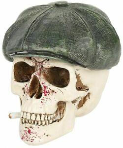 Nemesis Now Boss Skull Peaky Blinder Resin Figurine Ornament Gothic Gift Decor