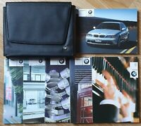 BMW 3 SERIES E46 COUPE HANDBOOK OWNERS MANUAL WALLET 2000-2006 PACK L-449