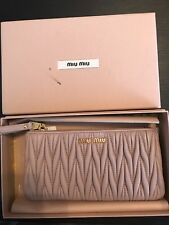Miu Miu Purse dusty pink With Authenticity Certificate Card