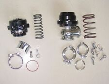 50mm BOV AND 44mm Wastegate Combo Turbo blow off valve and Waste Gate BLACK