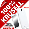 New Krusell White ColorCover Hard Case For Samsung i9500 Galaxy S4 Cover Shell