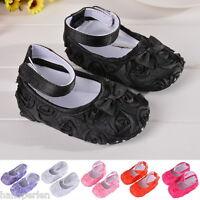 Newborn Toddler Infant Prewalker Baby Girl Shoes Anti-slip Cotton Soft Sole CA