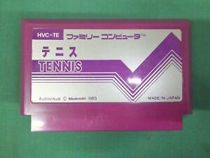 TENNIS -- Famicom, FC, NES. Japan game. Work fully. 10366
