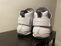 Nike Men's Air Jordan 19 Retro XIX (White/Flint Grey) Shoes Size 11 Original Own