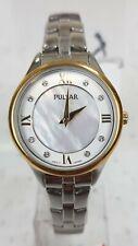 Pulsar Ladies Dress Watch Two-Tone M.O.P 30M PM2198 G.P/ S.Steel UK Seller