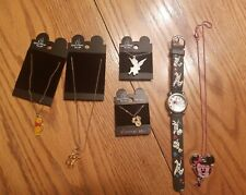 Disney Jewelry Lot, watch, with 5 necklesses!
