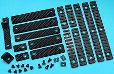 G&P URX III Rail Cover Set (Long, Black) GP-COP037B for Airsoft toys