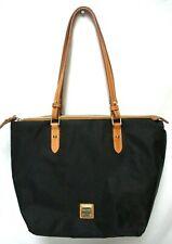 Dooney & Bourke Miramar Nylon Devon zip tote Shoulder Bag Handbag black NWT NEW