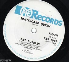 FAT BUBBLES Skateboard Queen *AUSTRALIA ORIGINAL 70s PYE RECORDS SINGLE*