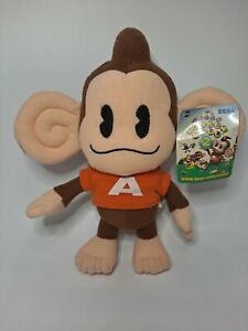 "2002 Sega Promotional Super Monkey Ball 2 Game 8""  Promo Plush RARE"