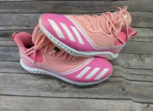 ADIDAS ICON V BOUNCE SOFTBALL BASEBALL CLEATS MOTHER'S DAY PINK FW5543 MENS 11