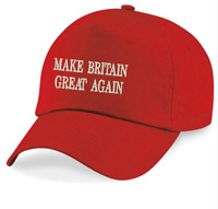 Hat America Donald Trump Brexit Make Britain Great Again Baseball Cap Decor