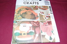 McCalls Pattern # M4617 - Thanksgiving & Christmas Holiday Table Settings - NEW