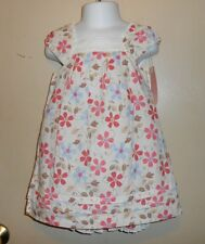 First Impressions Infant Girls Floral Sun-Dress + Panty + Headband Ivory 18M Nwt
