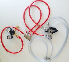 Beer Tap Draft Air line co2 Hose 5ft Kegerator Gas Spliter Regulator Couplers