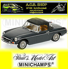 MGB 1968 Blue MINICHAMPS 1 43