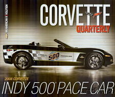 2008 Chevy Corvette Indy 500 Pace Car info card