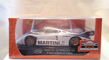 "SLOT IT SICA21B LANCIA LC2 ""MARTINI"" #5 1ST PLACE 1000KM SPA 1985 1/32 SLOT CAR"