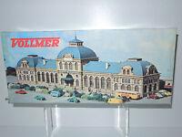 Vollmer 7505 N Bausatz Bahnhof Baden Baden, unbebaut, unbenutzt! Komplett, OVP