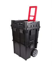 XXL Werkzeugtrolley leer rollende Werkstatt Werkzeug Wagen Koffer Box mit Rollen