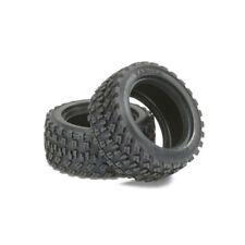 Tamiya 51427 60D Rally bloque Neumático/Neumático (2 Pcs.) (M01/M03/M04/M05/M05Ra/M06/M07)