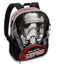 Disney Authentic Stormtrooper Star Wars Galactic Empire Boys Backpack School Bag