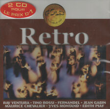 Retro by Various Artists (2 CDs, 1998 Wargram) French Nostalgia & Chansons/NEW!