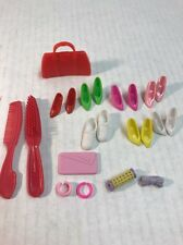 Mattel Barbie Doll Accessories And Shoes  Lot Of 15 BARBIE SNEAKERS And More