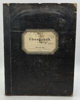 Rare German Antique School Book Business Forms Checks Ubungsheft 1904 20-1433