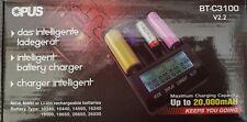 Intelligent LCD Battery Charger  Li-ion NiMH NiCd AAA AA - OPUS  BT-C3100 V2.2