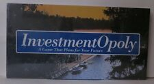 Investment-Opoly Board Game, Like Monopoly Rare