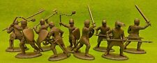 French Men at Arms & Armati Medieval Knights 1/32 54MM Expeditionary Force Toy