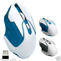 2.4GHz 3200DPI Wireless Optical 4 Keys Gaming Mouse Mice For Computer PC Laptop