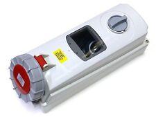 63A Interruttore Presa Di Interblocco 5 Spilla Con Din Rail 3P + N + T IP67 380