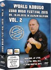 World Kobudo Euro Budo Festival 2015 Vol.2 Seminar DVD Goshindo Ju-Jitsu BJJ MMA