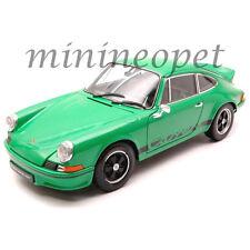 WELLY  18044 1973 73 PORSCHE 911 CARRERA RS 1/18 DIECAST MODEL CAR GREEN
