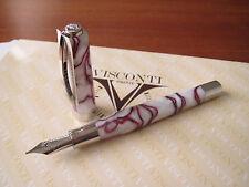 Visconti Opera Cherry Blossom fountain pen Medium 23kt Pd nib MIB