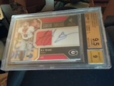 A.J. Green 2011 sp authentic signature threads auto/jersey bgs 9.5 12/25.ROOKIE
