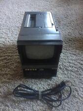 Vintage 1986 Sears Roebuck SR3000 TV Radio Receiver Small Portable Television