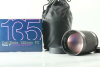 【Mint in Box】Carl Zeiss Planar T* 135mm f2 MMG lens for CY Mount from JAPAN 0209
