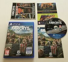 Far Cry 5 Sony Playstation 4 PS4 Standard Edition Complete PAL