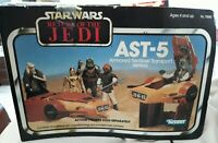 1983 VINTAGE STAR WARS ROTJ MINI RIG AST-5 VEHICLE UNUSED 100% COMPLETE W INSERT