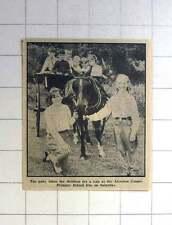 1963 Pony Taking Children For A Ride Alverton County Primary School Fete