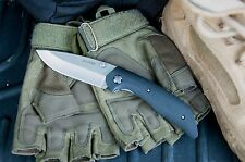 KA-BAR 7505 Jarosz Straight Edge Drop Point Folding Pocket Knife