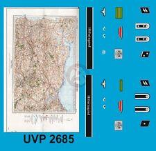Peddinghaus 1/35 Waffen-SS Tankers Insignia w/Map WWII (Verlinden 2685) UVP2685