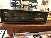 TEAC V909Rx Auto Reverse Stereo Cassette Deck w/Remote Needs work so Sold AS IS!