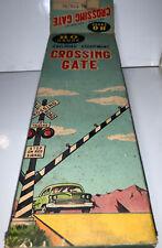Sakai HO Gauge Vintage Railroad Equipment Crossing Gate w Box Japan Genuine