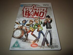 Ultimate Band for the Nintendo Wii