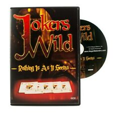 Jokers Wild in Bicycle Card Backs With DVD Combo! - The Joker's Wild With DVD!